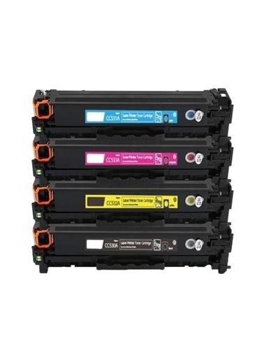 ORKAN Orkan Toner Hp 305A / CE410A, CE411A, CE412A, CE413A Renkli Set Muadil Toner Renkli